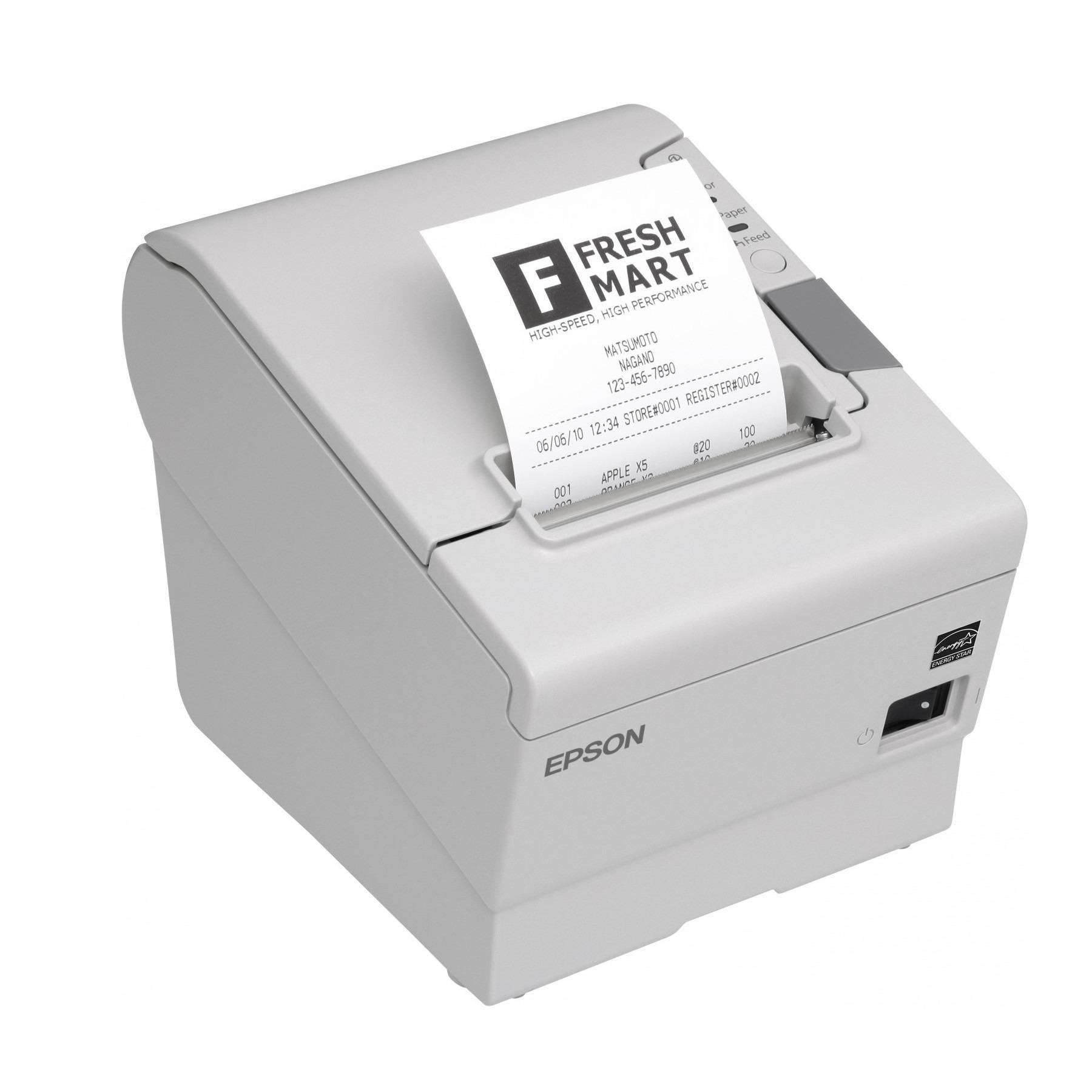 imprimante thermique epson tm t88v noir cd74. Black Bedroom Furniture Sets. Home Design Ideas