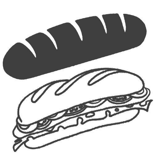 Pack boulangerie, snacking